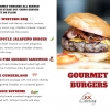Gourmet Burger Menu