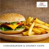 Cheeseburger & Chunky Chips