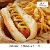 Jumbo Hotdog & Chips