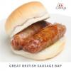 Great British Sausage Bap