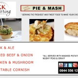 Pie and Mash Classic Menu