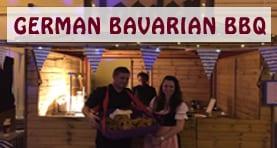 German Bavarian BBQ Huts