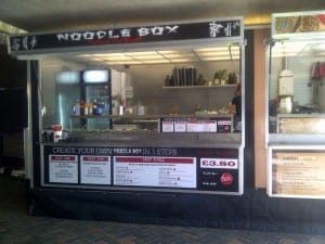 Eatern inspired street food from noodle box
