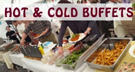 hot and cold bufffets