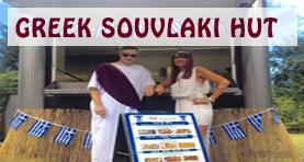 greek street food and souvlaki