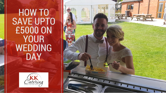 how to save upto £5000 on your wedding day