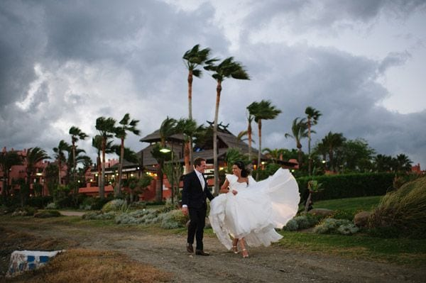 Windy Wedding Photos