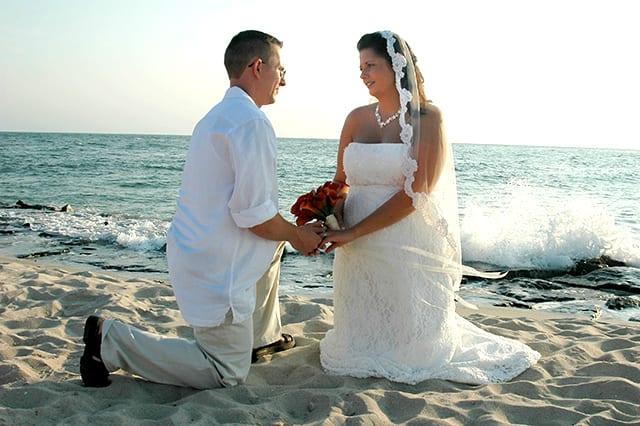 informal wedding