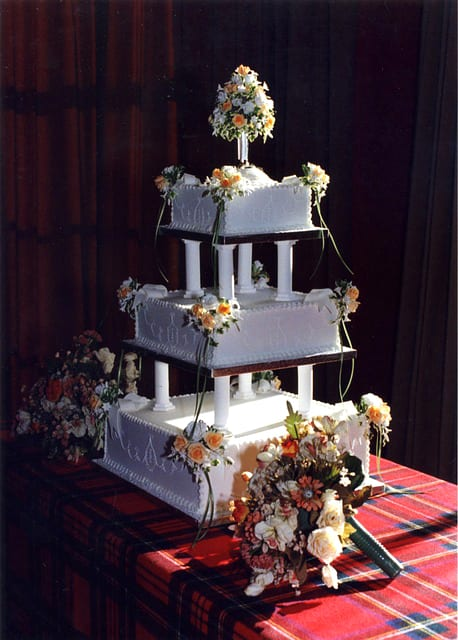 outrageous wedding cake