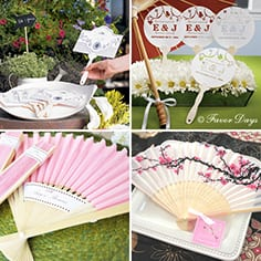summer-friendly wedding favors