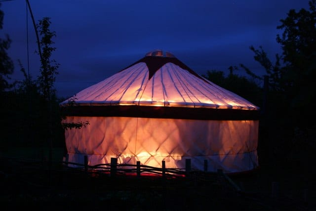 yurt wedding