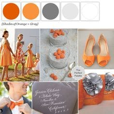 Orange and Grey