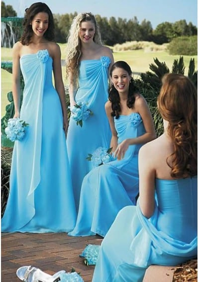 bridesmaids attire