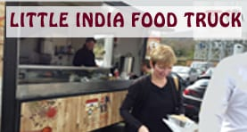 Indian curry food van