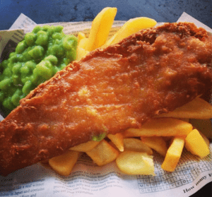 Fish and chips for your office party