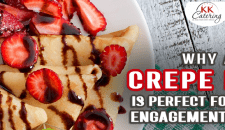 Why A Crepe Bar Is Perfect For Your Engagement Party