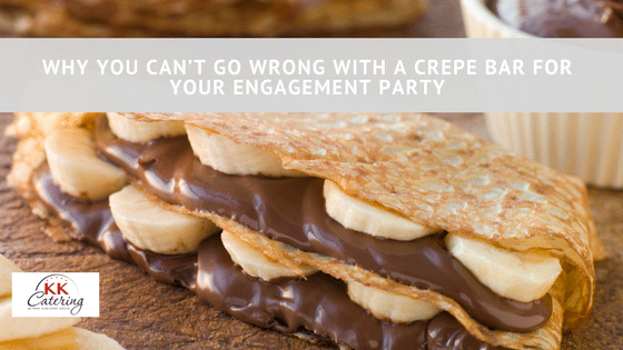crepe bar for your engagement party