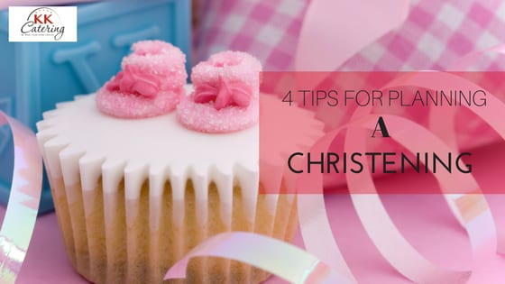 4 tips for planning a chistening