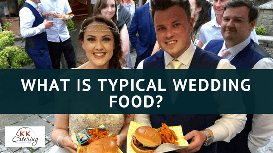 what is typical wedding food