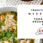 What is traditional wedding food around the world?