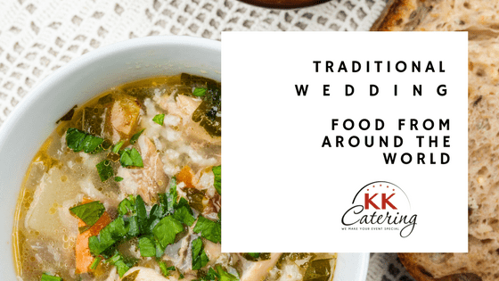 wedding food from around the world