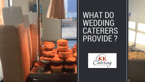 what do wedding caterers provide