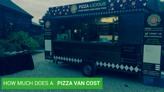 How much does a Pizza Van Cost?