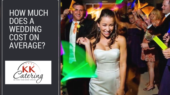 How much does a wedding cost on average?
