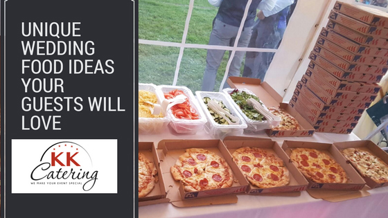 Unique wedding food ideas your guests will LOVE