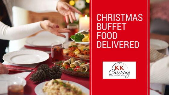 Christmas Buffet Food Delivered