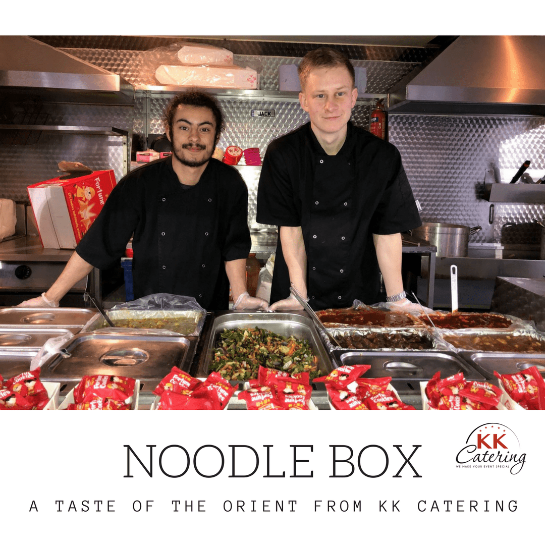 noodle box from kk catering