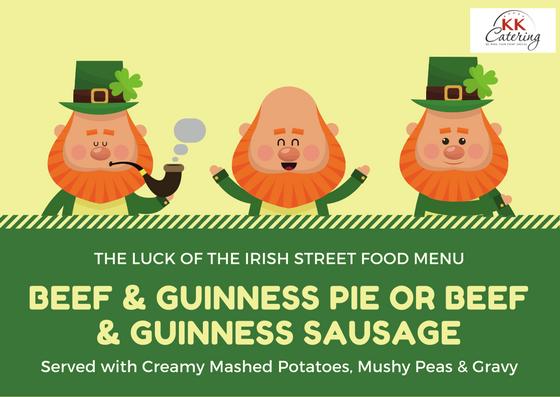 st patricks day irish street food