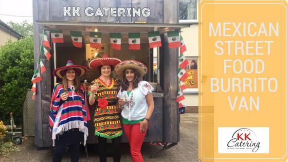 mexican burrito street food van hire