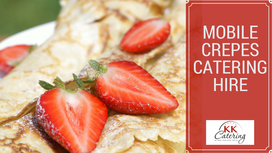 crepes catering hire