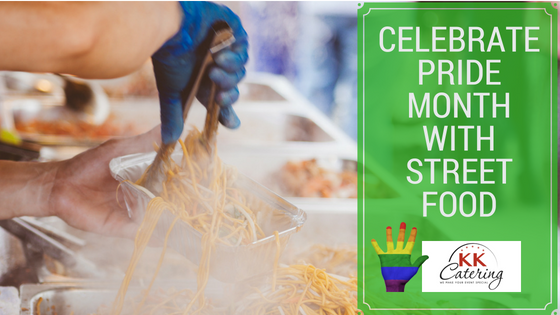 Celebrate Pride month with street food