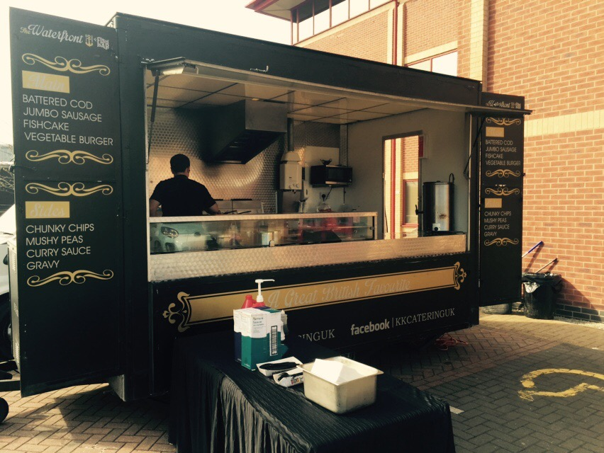 Fish and Chip Van from KK Catering