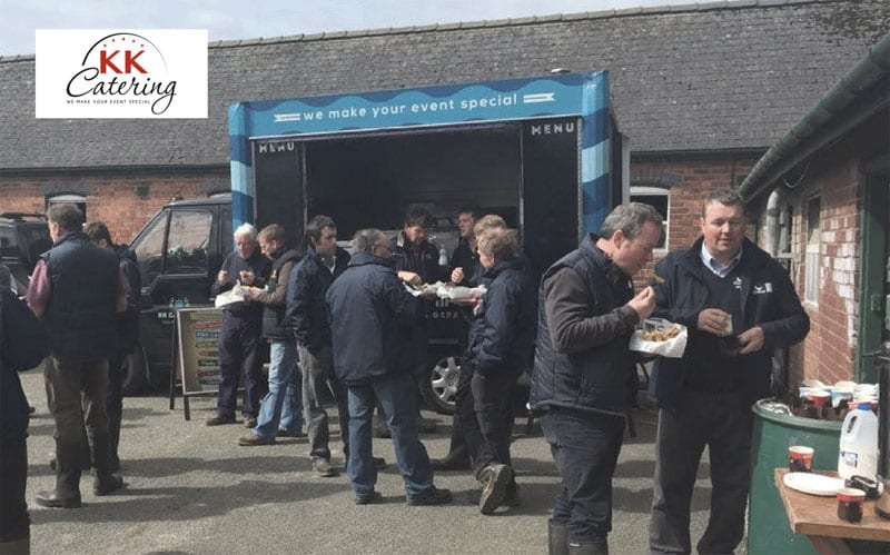 treat your staff to mobile catering for the back to work reopening party