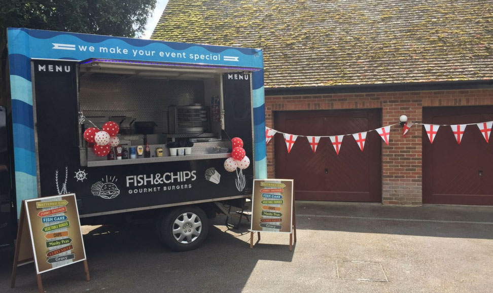 Fish and Chip Van Hire