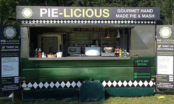 Pie & Mash Van Hire | KKCatering.co.uk
