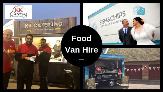 food van hire from kk catering