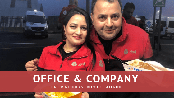 catering ideas for an office company event