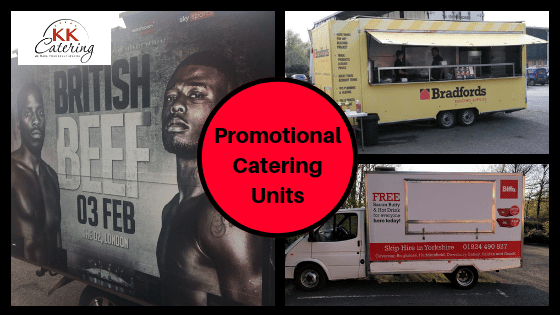 promotional catering vans and units from kk catering