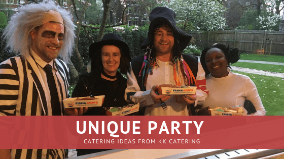 unique catering ideas for a party