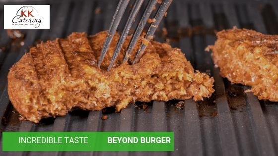 incredible taste of the beyond burger