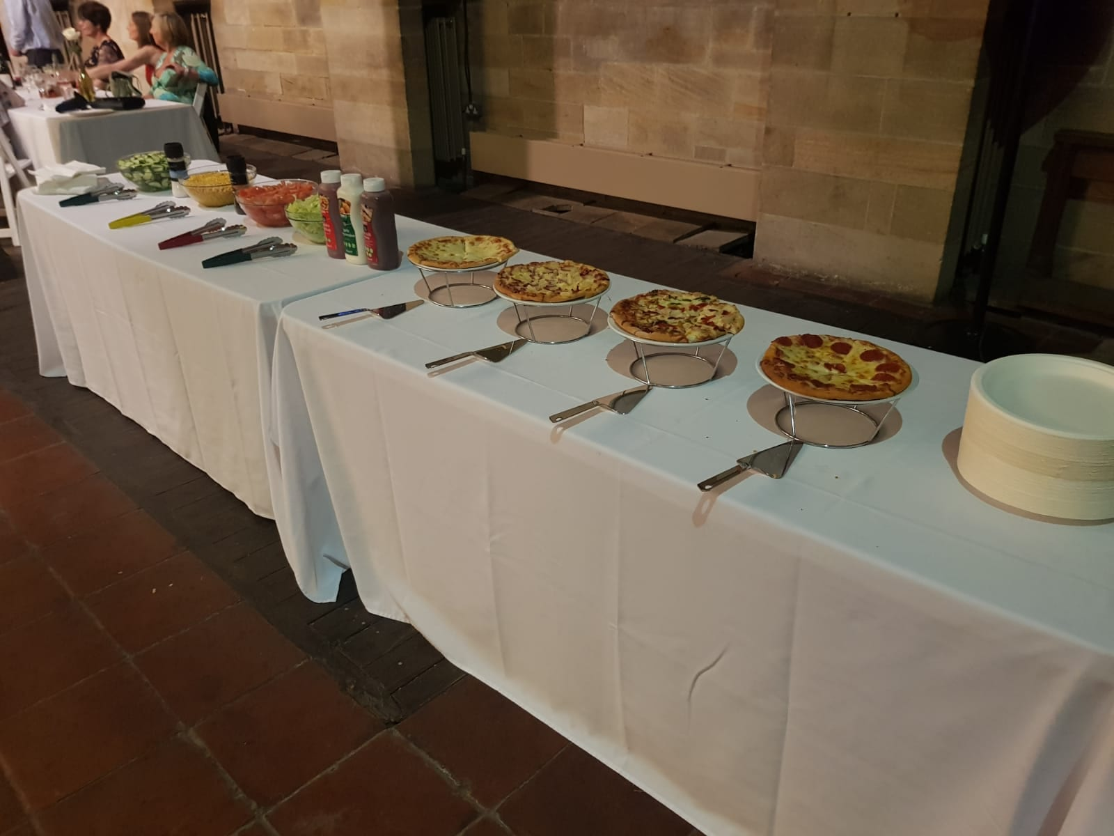 Self-service Pizza - Wedding Catering