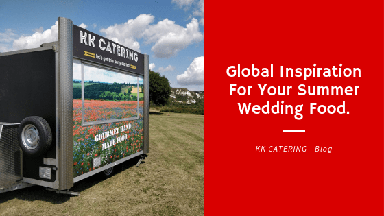 Global inspiration for your wedding food