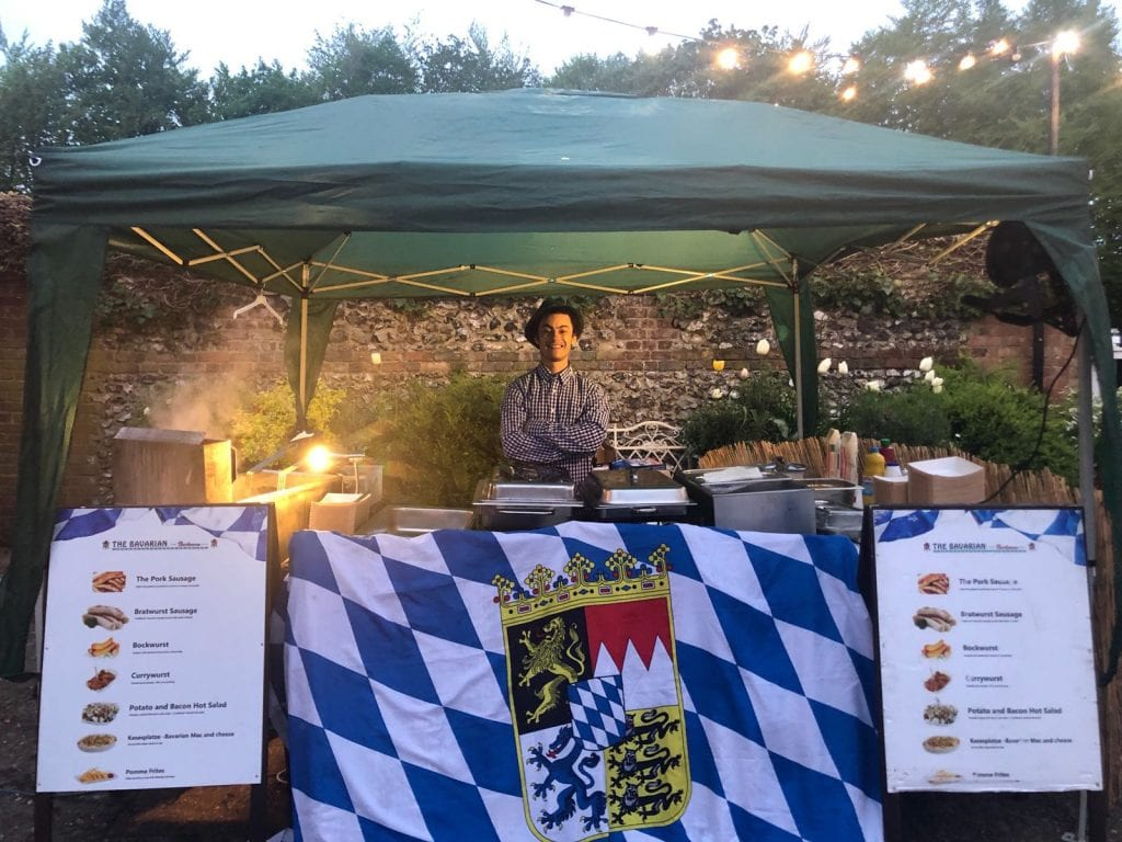 Bavarian BBQ Marquee - KKCatering
