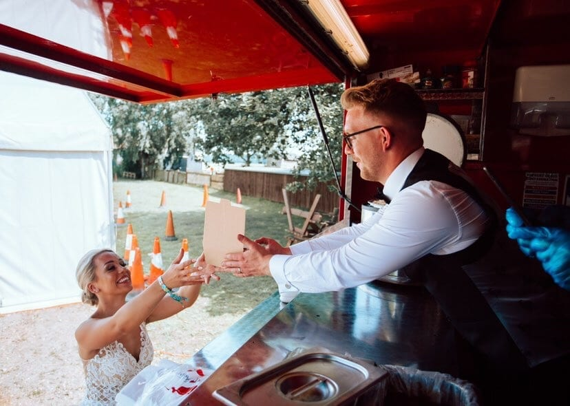Pie & Mash Wedding Food Catering Van