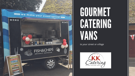 caterng vans to your street for cash sales