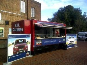 Jaguar landrover promotion at Southampton University